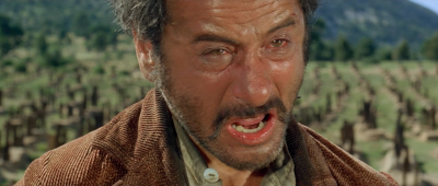 Tuco in the final scene of The Good, The 	Bad and the Ugly